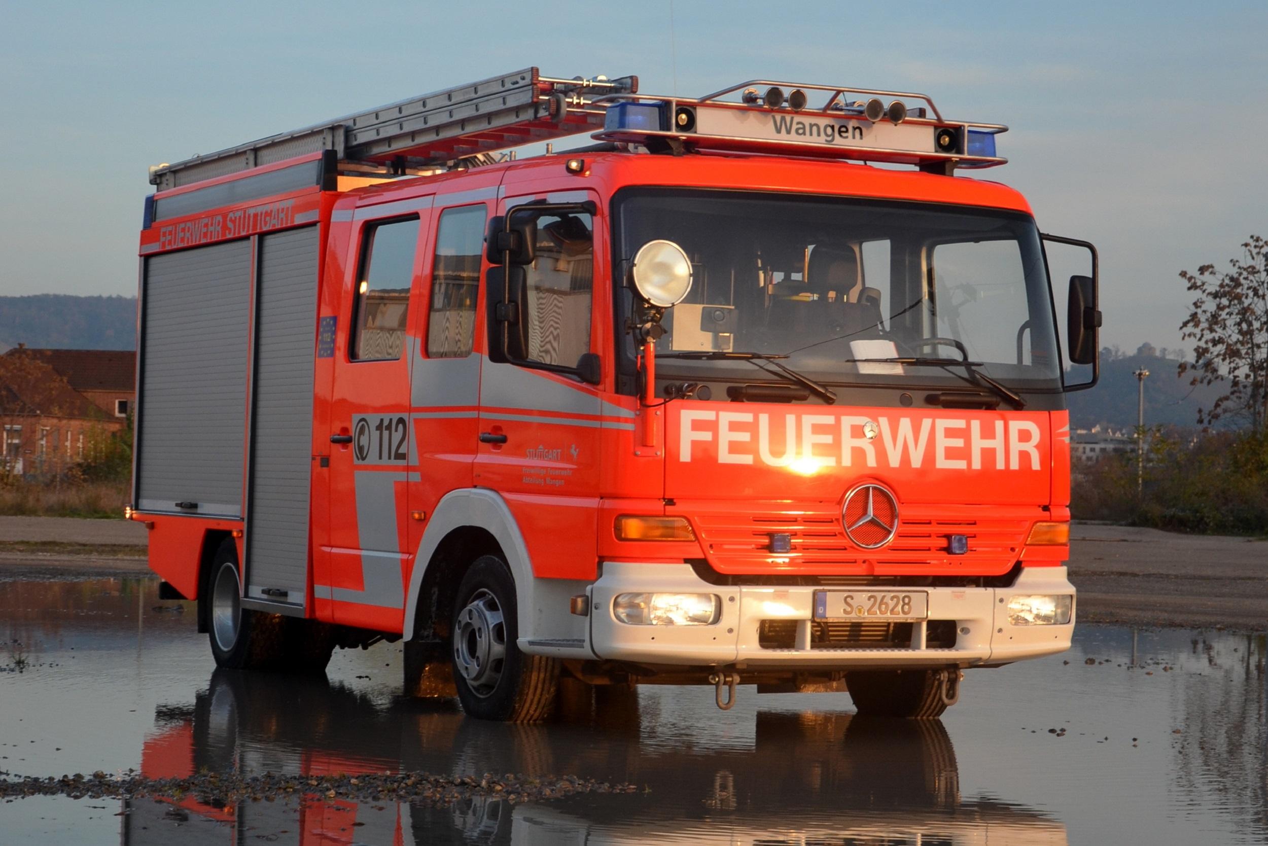 Löschfahrzeug 8/6 – Freiw. Feuerwehr Stuttgart, Abt. Wangen